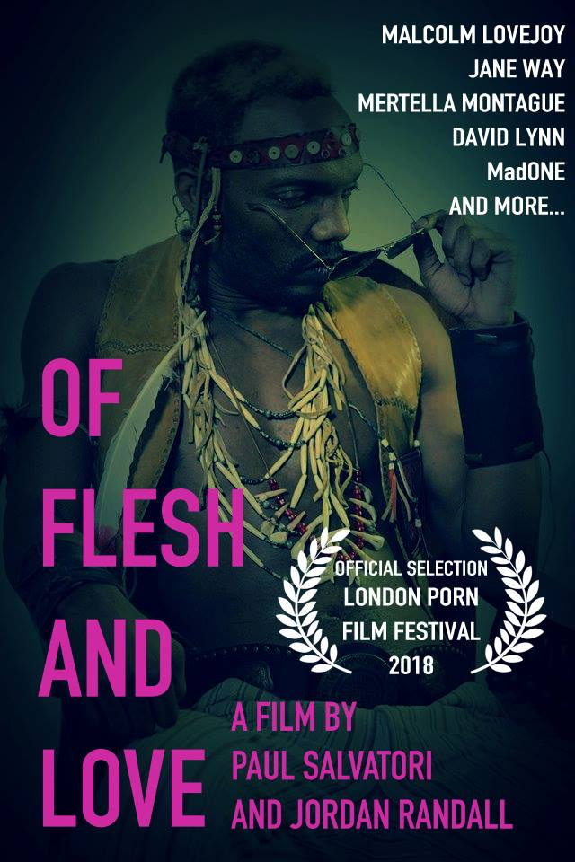 flesh and love poster